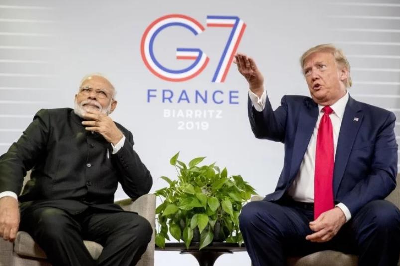 जी-7 में कश्मीर मुद्दे पर बोले पीएम मोदी- हम किसी तीसरे को कष्ट नहीं देना चाहते हैं